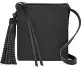 Elizabeth and James Sara Stud-Embellished Textured-Leather Shoulder Bag
