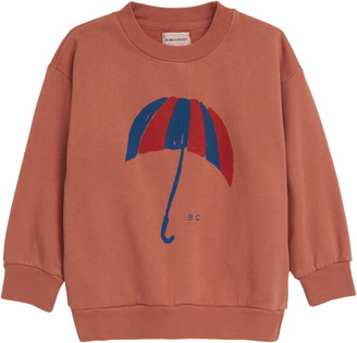 Bobo Choses Umbrella Graphic Organic Cotton Sweatshirt