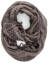 BP Geo Embroidery Infinity Scarf