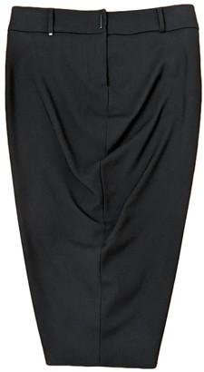 Sportmax Black Wool Skirt for Women