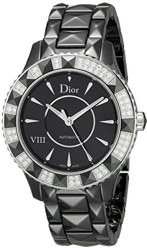 Christian Dior Women's CD1245E1C001 Eight Analog Display Swiss Automatic Watch