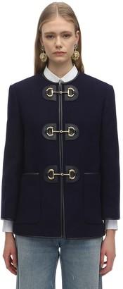 Gucci Wool Cloth Caban Jacket