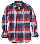 Banana Republic Camden-Fit Luxe Flannel Buffalo Check Shirt