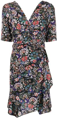 Isabel Marant Arodie floral mini dress