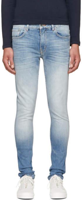 Robert Geller Blue Type 3 Jeans
