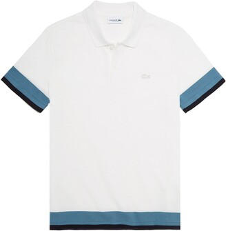 Lacoste Regular Fit Colorblock Pique Polo