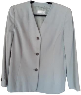 Bally Blue Wool Jacket for Women
