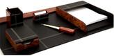 Bey-Berk 6Pc Leather Desk Set