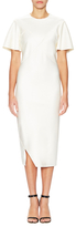 Jil Sander Flounce Sheath Dress