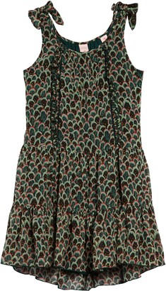 Scotch R'Belle Kids' Print Tie Shoulder Dress