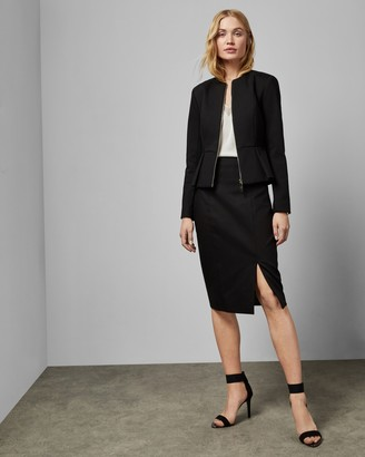 Ted Baker NAIMEYS Pencil skirt with exposed zip