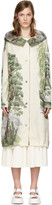 Stella McCartney Off-white Landscape Parka