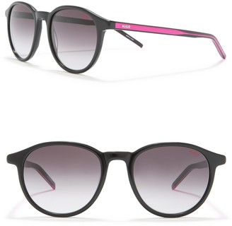 BOSS 51mm Round Sunglasses
