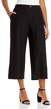Eileen Fisher, Plus Size High Waist Ankle Pants