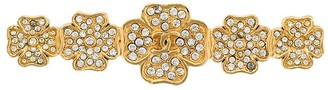 Chanel Pre-Owned flower shaped brooch