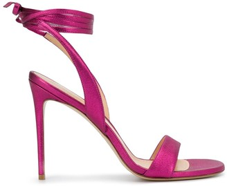 Giuliano Galiano Sarah ankle-tie sandals