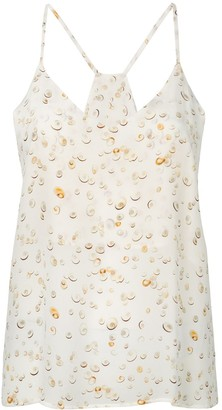 Tara Matthews Seashell Printed Cami Top