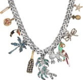 Marc Jacobs Tropical Charm statement necklace