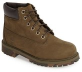 Timberland Boy's '6 Premium' Waterproof Leather Boot
