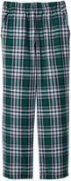 Mulberribush Pull-On Flannel Plaid Pant (Little Boys)
