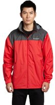 Columbia Men's Glennaker Lake Front-Zip Rain Jacket with Hideaway Hood