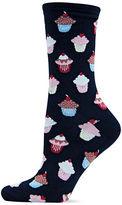 Hot Sox Cupcake Socks