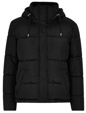 Dorothy Perkins Womens Petite Black Short Coat, Black