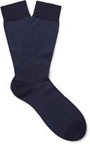 Pantherella - Fulham Striped Cotton-blend Socks