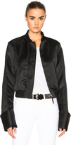 Protagonist Exaggerated Sleeve Bomber Jacket