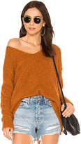 Free People Lofty V Neck Sweater