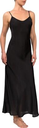 Everyday Ritual Angelina Satin Slip Nightgown