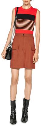Cue Multi Stripe Sleeveless Knit