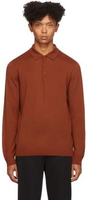 HUGO Orange San Giovanni Long Sleeve Polo