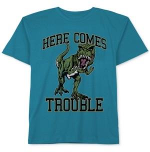JEM Dinosaur Graphic-Print Cotton T-Shirt, Little Boys
