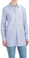Andrea Jovine Yarn-Dyed Front Placket Shirt - Long Sleeve (For Women)