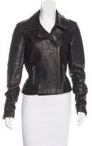 A.L.C. Paneled Leather Jacket