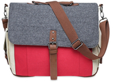 Something Strong Tri-Color Messenger Bag