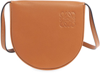 Loewe Men's Heel Small Leather Crossbody Pouch Bag