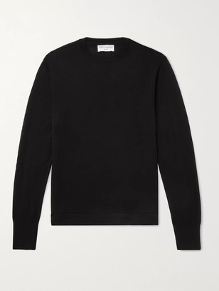Officine Generale Nina Wool And Silk-Blend Sweater