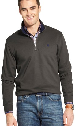 Izod Men's Sportswear Advantage SportFlex Classic-Fit Performance Fleece Quarter-Zip Pullover