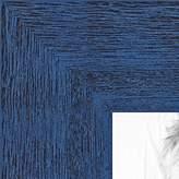 ArtToFrames 2WOM0066-83235-Yblu-15x29 Periwinkle Rustic Barnwood Wood Picture Frame