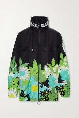 MONCLER GENIUS 8 Richard Quinn Pat Floral-print Shell Jacket - Black