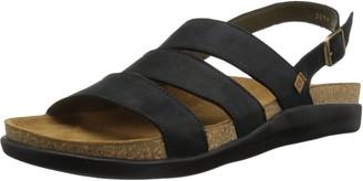 El Naturalista Mens N5090 Pleasant Wood-p//Koi Flat Sandal