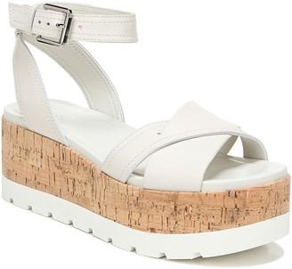 Franco Sarto Cork Platform Sandals - Fae