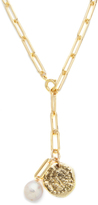 Jacqueline Rose Relic Coin Link Necklace