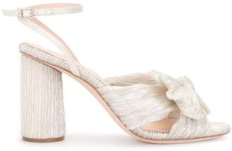Loeffler Randall Camellia bow detail sandals