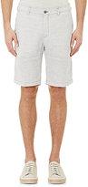 Massimo Alba Men's Striped Slub-Weave Shorts-WHITE
