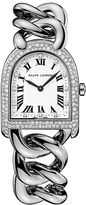 Ralph Lauren Petite-Link Steel Diamonds