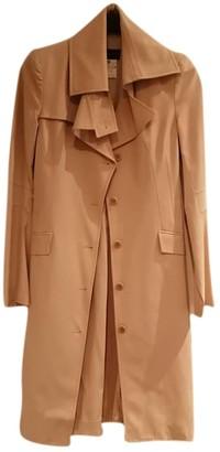 Patrizia Pepe Beige Cotton Trench Coat for Women Vintage