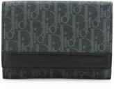 Christian Dior logo printed wallet